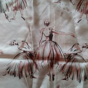 Echo Large Square Ballerina Silk Scarf